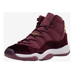 "AIR JORDAN 11 ""HEIRESS"" Color: Night Maroon/Metallic Gold-Night Maroon US Men 12 sold by FreshnUp. Shop more products from FreshnUp on Storenvy, the home of independent small businesses all over the world. Jordan 11 Red, Nike Air Jordan 11, Air Jordan Shoes, Jordan Retro, Sneakers Mode, Sneakers Fashion, Fashion Shoes, Custom Sneakers, Shoes Sneakers"