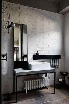 Индустриальная роскошь: стильный лофт в Мельбурне | Пуфик - блог о дизайне интерьера