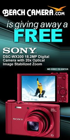 #Contest: Win a top-of-the-line #Sony Digital Camera! #Giveaway #Gadgets #Photography