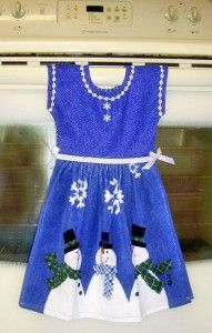 Kitchen Tea Towel Dress