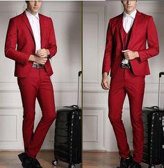 costume homme rouge et blanc. Black Bedroom Furniture Sets. Home Design Ideas
