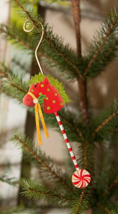 Candy Land Stick Horse Ornament - The Round Top Collection The ornament can be…