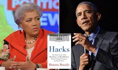 Brazile, who took over the DNC from Chair Debbie Wasserman Schultz after the email leaks last summer, also claimed that the former president 'leeched' the Democratic party of its vitality'