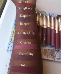 colorpop matte lip stains on dark skin kapok, tulle, more better, zipper, limbo)                                                                                                                                                     More
