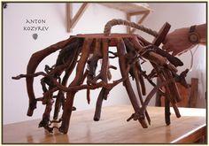 Chandelier driftwood / люстра из коряг
