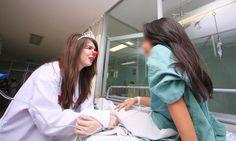 Sesiones de Risoterapia ofrecen voluntarios a pacientes del Hospital n.° 2 del IMSS http://noticiasdechiapas.com.mx/nota.php?id=87291