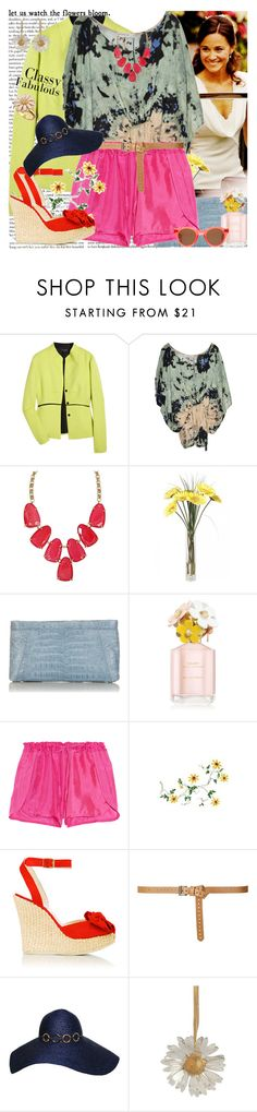 """Flowers in the Springtime"" by msfashionchick ❤ liked on Polyvore featuring Pippa, Narciso Rodriguez, Sam&Lavi, Kendra Scott, Nancy Gonzalez, Marc Jacobs, Tara Matthews, L.K.Bennett, Zara and Kaliko"