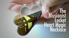 The Illusionist Locket Heart Magic Necklace(電影魔幻至尊的心型項鍊)