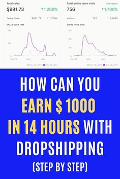 How can you earn $ 1000 in 14 hours with Dropshipping (step by step) -------------- FREE ------------------- ����� 5229 Earn Money From Home, Make Money Blogging, Make Money Online, Make Side Money, Make Money Fast, Legitimate Work From Home, Work From Home Jobs, Online Business Opportunities, Online Work