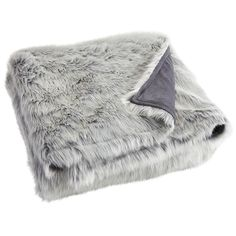Oversized Ombre Faux Fur Throw