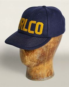 Wool-Blend Snapped-Back Cap - RRL Hats - RalphLauren.com Winter Collection 94a55dc7a700