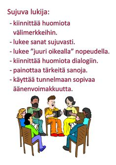 Millainen on sujuva lukija Reading Comprehension, Literature, Language, Classroom, Teaching, Activities, Writing, Education, Memes