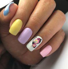 Feather Nails, Fall Nail Art, Simple Nails, Nail Arts, Nail Art Designs, My Nails, Acrylic Nails, Hair Beauty, Make Up