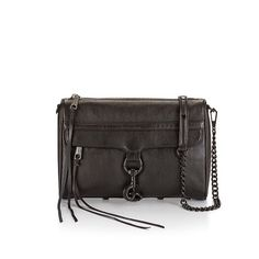 "Rebecca Minkoff Black M.A.C. Purse Rebecca Minkoff MAC bag. Roomy and compact purse. Genuine leather. Custom black hardware. 21"" chain strap drop. Price firm. Rebecca Minkoff Bags Crossbody Bags"