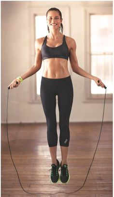 Jump rope (EXERCISES TO GET RID OF BACK FAT)