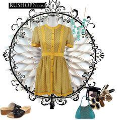 """The Lemon Mojito Dress"" by farminista on Polyvore"