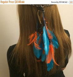 A personal favorite from my Etsy shop https://www.etsy.com/listing/209396520/miami-dolphins-tribal-headband-native