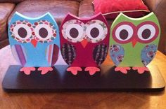 owl decor for bug's room