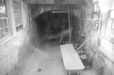The Morgue at Alcatraz Anyone else see the man in the wheelchair?