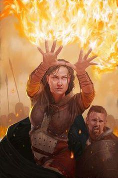 Burning Hands spell - John Stanko