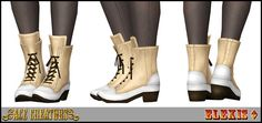"""#Sims3 """"Autumn Lace"""" - Boots by Elexis 