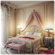 Sevgililer gününe özel küçük eklemelerle yatak odanızda romantizm dolu bir ortam yaratabilirsiniz...