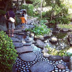 temple pathways in japan