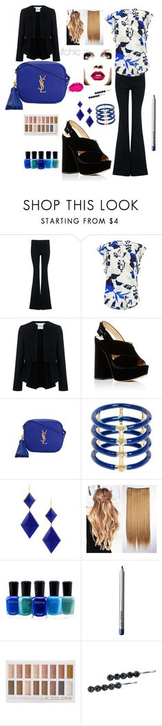 """""""@ifchic #ifchic"""" by christychase ❤ liked on Polyvore featuring 10 Crosby Derek Lam, Charlotte Olympia, Yves Saint Laurent, Elizabeth and James, Marie Hélène de Taillac, Zoya, Paula Dorf, Urban Decay and Jane Tran"""