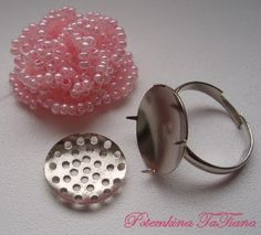Beaded Rose TUTORIAL ring