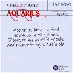 Aquarius 13310: Visit The Daily Astro for more facts about Aquarius.