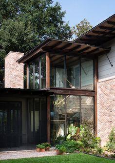 Liberty - rustic - Porch - Austin - David Mills Custom Homes