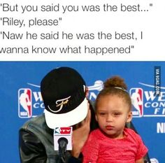 Riley curry, you da real mvp.