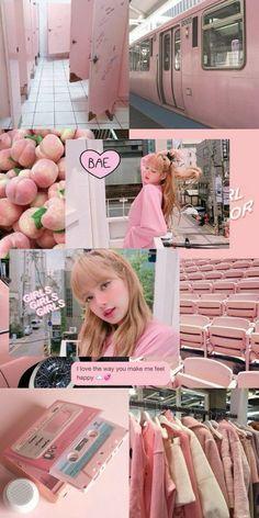 New Wall Paper Sperrbildschirm Schwarz Rose Ideas Aesthetic Collage, Kpop Aesthetic, Pink Aesthetic, Rainbow Aesthetic, Lisa Blackpink Wallpaper, Tumblr Wallpaper, Blackpink Lisa, Aesthetic Pastel Wallpaper, Aesthetic Wallpapers