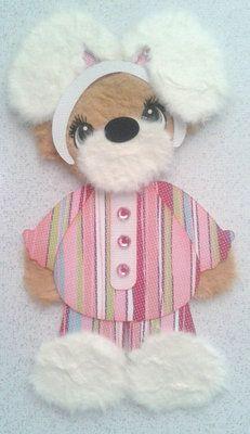 Easter Bunny with Stripes Girl Costume Kids Summer Tear Bear Kira AP4P | eBay