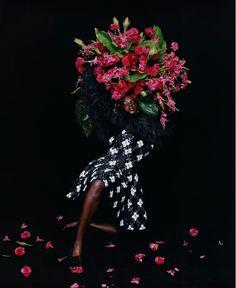 Black Girls Rock, Black Girl Magic, Harley Weir, Art Partner, Shades Of Blue, 50 Shades, Flower Power, Fashion Photography, Bloom