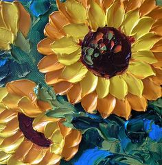 Texture, yellow, colors, sunflowers!!! LOVE!!!