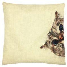 Pretty kitty pillowcase