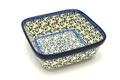 Polish Pottery Baker  Square  Terrace Vines *** Click image for more details.