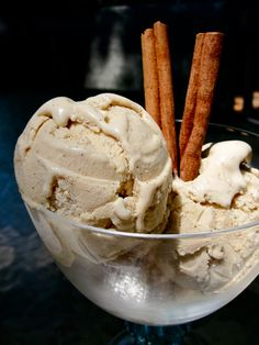 Cinnamon Ice Cream: This is a classic dessert in Spain. Although ice cream is not eaten at home, summer dinners many times end up at an 'Heladería' (ice cream stand) where Spaniards eat this one!