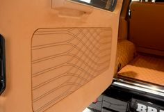 Auto Upholstery - The Hog Ring - Brabus Double Long Tail Diamond Pleats