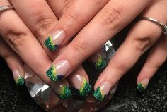 Glitter Acrylic by erinvars from Nail Art Gallery