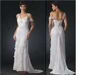 Ivory off the shoulder wedding dress by Sean Collection. Never been Worn but without tags.