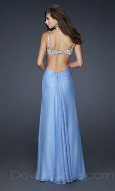 A-Line Sweetheart Long Chiffon Prom Dress kaise
