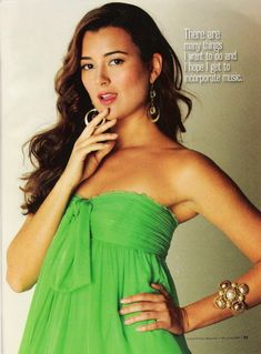 Cote de Pablo in 'Latino Future' Magazine - NCIS Photo (7043471) - Fanpop