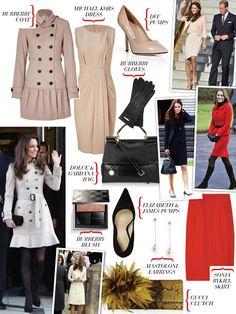 """Get Her Look"" - Kate Middleton"
