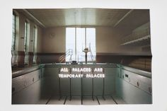Robert Montgomery: Echoes of Voices in the High Towers #visualpoetry
