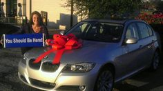 Here's a great pic of Andrea Walen (@Andrea / FICTILIS / FICTILIS / FICTILIS Walen) with her new silver BMW 328i! Andrea is an office manager for a chiropractor's office in Texas and she and her husband John work their WorldVentures business on the side. #WorldVentures #WingsWheels
