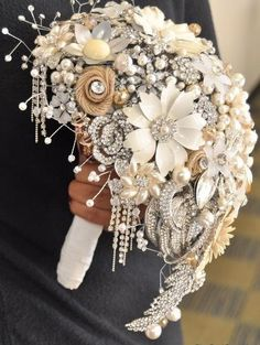One of the latest trends in DIY weddings is The Brooch Bouquet. Not only is this a perfect way to incorporate your 'something old' (be sure to ask grandmas, aunts, and visit lots of thrift stores!), but it is a great way for the bride to [...]