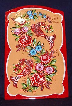 russian folk art painting - Google Search