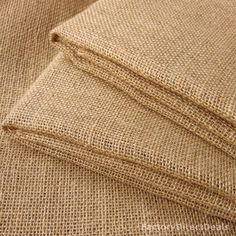 """2m x Luxury Natural Jute Hessian Burlap Fabric. Width: 100 cm / 40"""". 100% pure natural fibre material. Fabric will be folded for dispatch. Weight: 12 oz. art and craft. home decoration. 